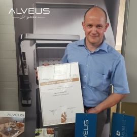 See which Alveus kitchen sinks have received the bronze award for the best innovation
