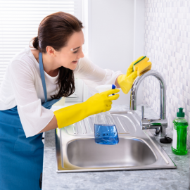 CLEANING OF KITCHEN SINKS AND KITCHEN TAPS:  10 TIPS OF OUR SPECIALIST