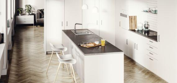 Novi liniji pomivalnih korit Luno in Galeo: da bo vaša kuhinja središče vašega doma