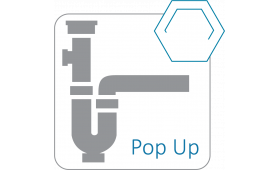 POP-UP sifon Sensual